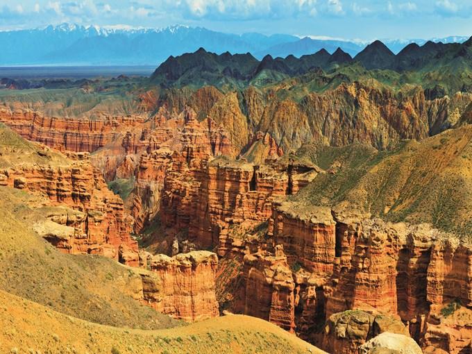image Kazakhstan Canyon de Charyn