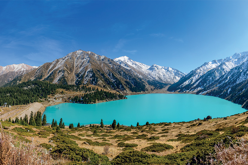image Kazakhstan Grand lac d Almaty 95 it_508575808