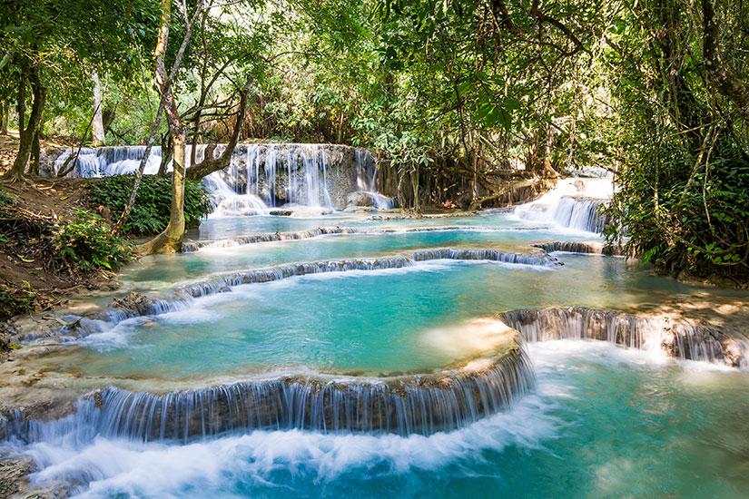 image Laos Luang Prabang Chutes Kuang Si  it