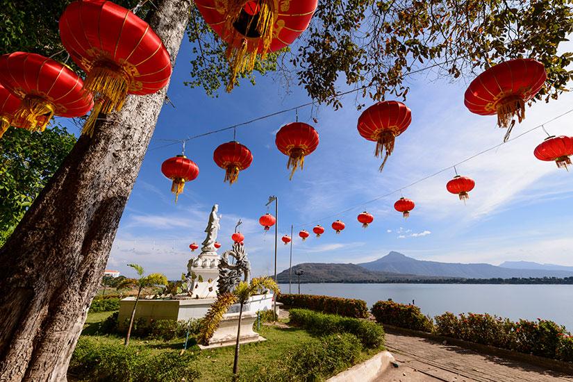 image Laos Rouge lanternes  it