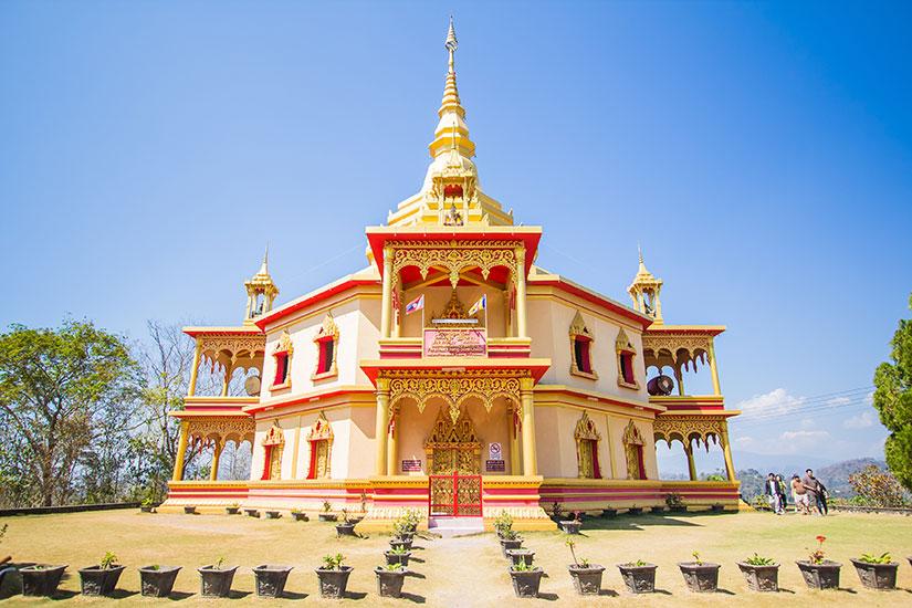 image Laos Temple Luang Prabang  fo