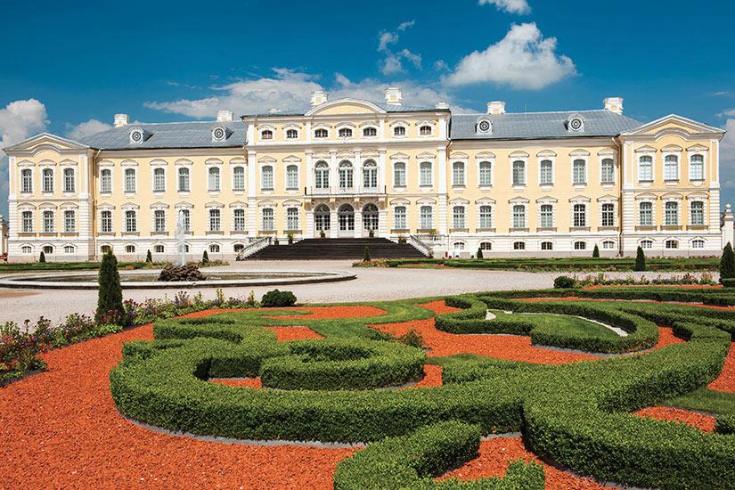 image Lettonie Rundale Palais  fo