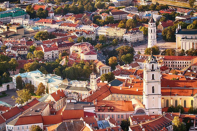 image Lituanie Vilnius vieille ville  it