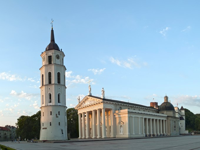 image Lituanie vilnius eglise