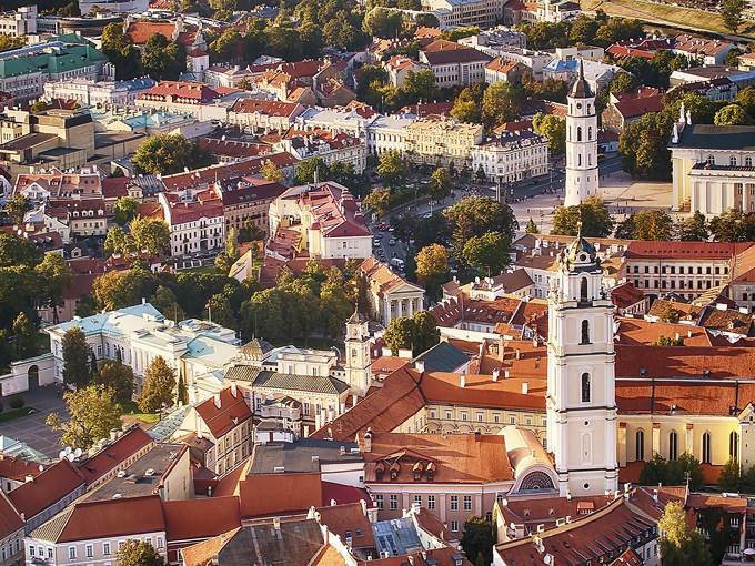 image Lituanie vilnius vue aerinne