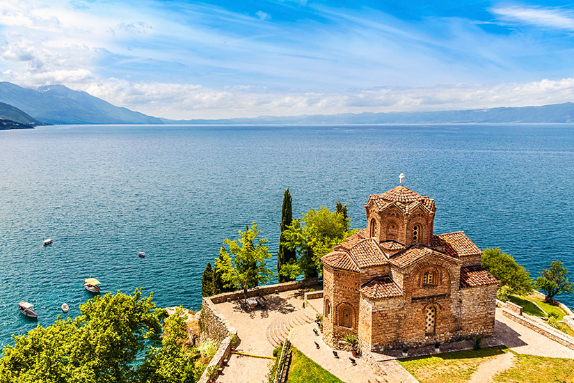 image Macedoine Lac Ohrid Eglise Jovan Kaneo  it