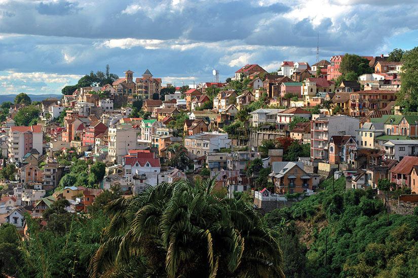 image Madagascar Antananarive Vue panoramique  fo