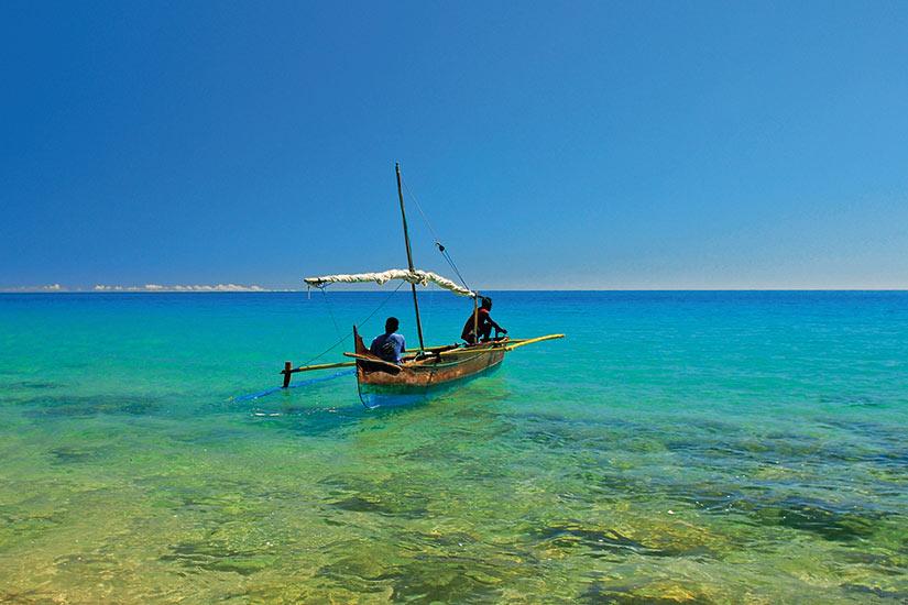 image Madagascar Nosy Bar bateau  fo