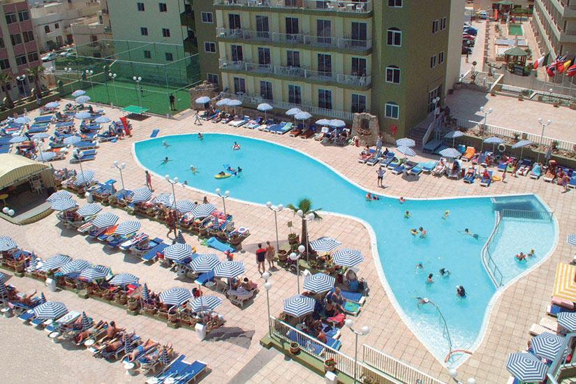 image Maltes Hotel Topaz piscine