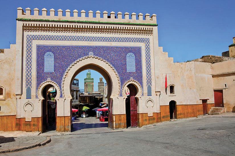 image Maroc Fes Medina  it