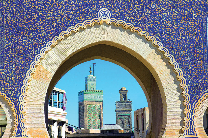 image Maroc Fes Medina  fo