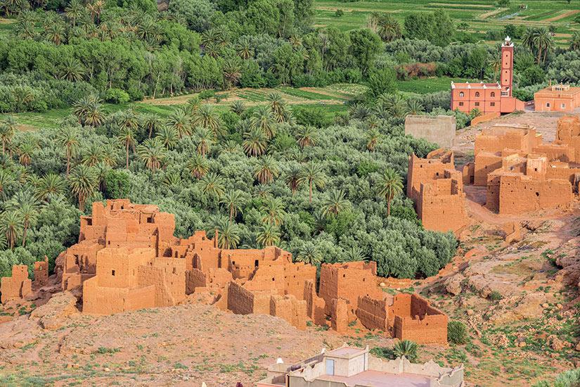 image Maroc Tineghir ville et oasis  fo
