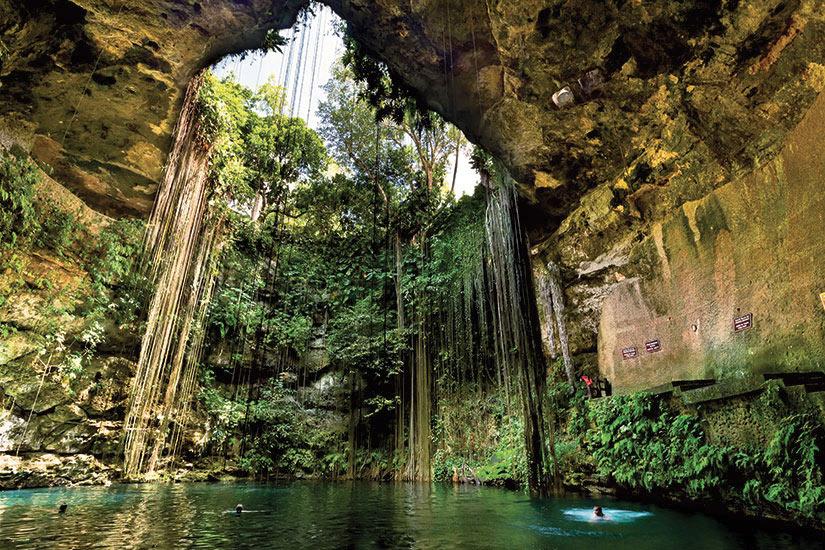 image Mexique Chichen Itza Cenote  fo