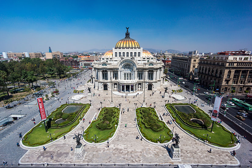image Mexique Mexico Palacio Bellas Artes  it