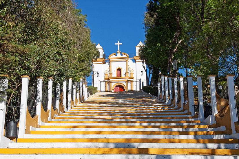 image Mexique San Cristobal Casas eglise Guadalupe  fo