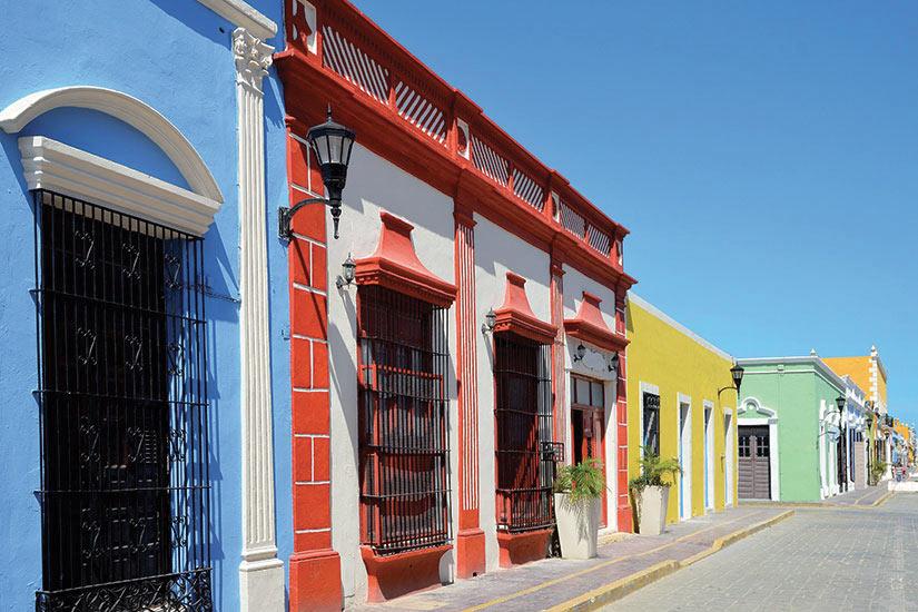 image Mexique Tulum campeche au Mexique larchitecture coloniale  it