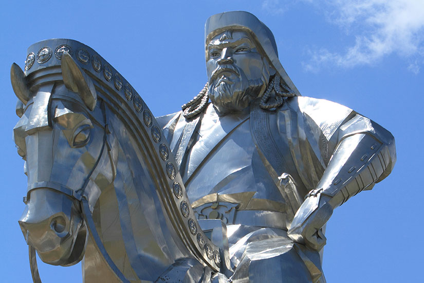 image Mongolie Gengis Khan monument  it