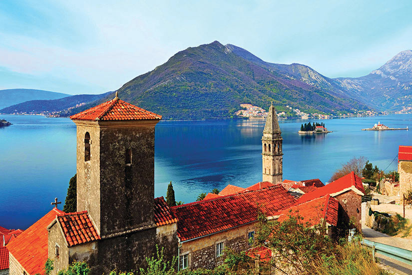 image Montenegro Baie de Kotor Perast Village  it