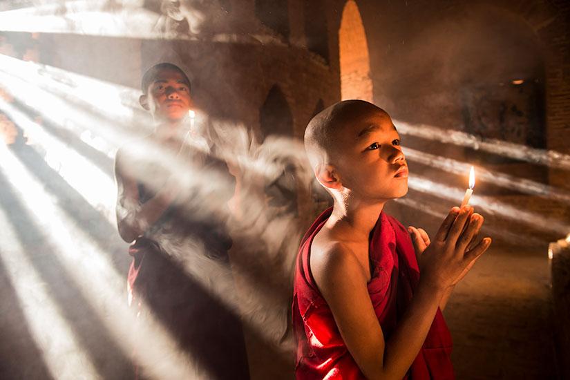 image Myanmar Bagan Moines bouddhistes  it