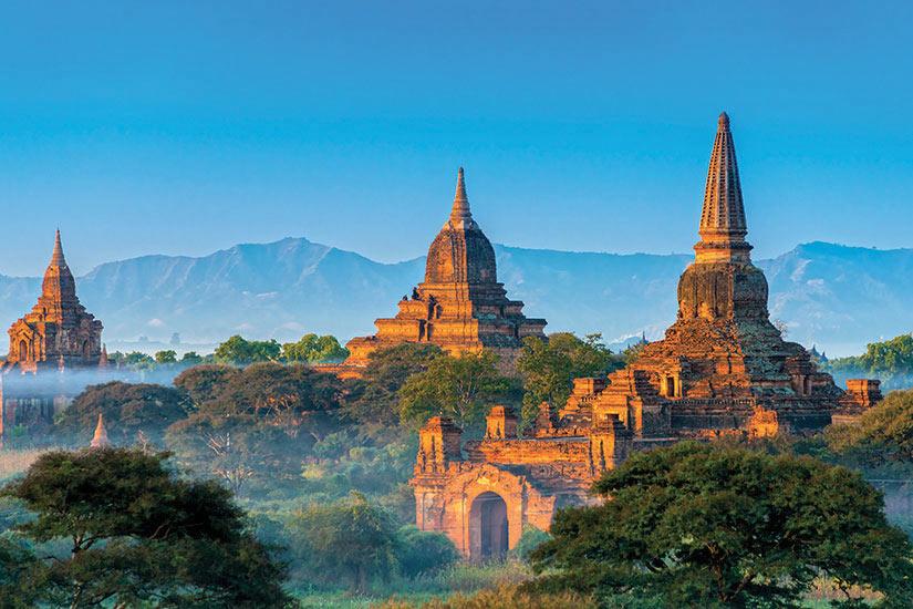 image Myanmar Bagan Panorama  fo