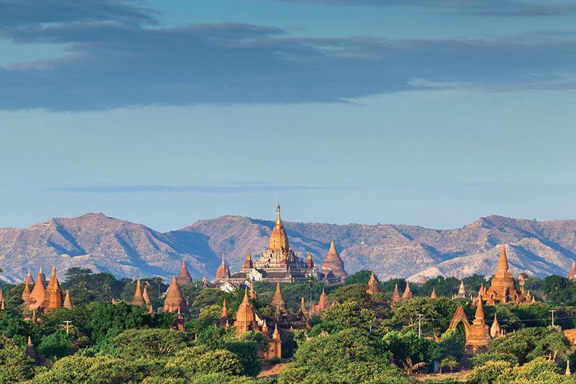 image Myanmar Bagan Temple  fo