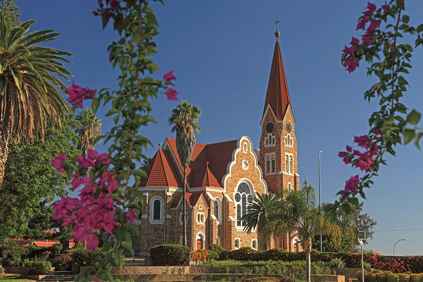 image Namibie Windhoek Eglise  it