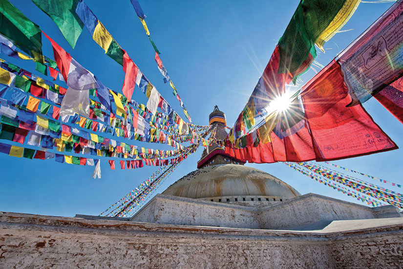 image Nepal Kathmandu Boudhanath stupa  it