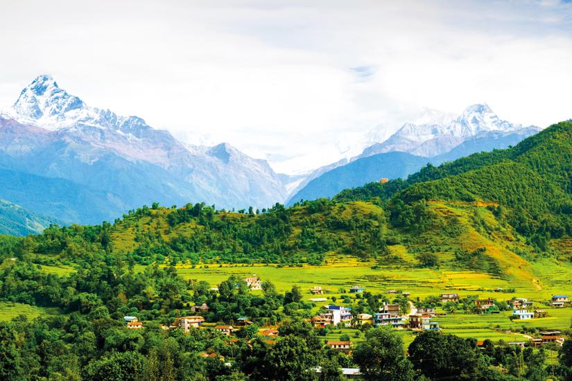 image Nepal panorama de annapurna pres de pokhara 29 as_63897232