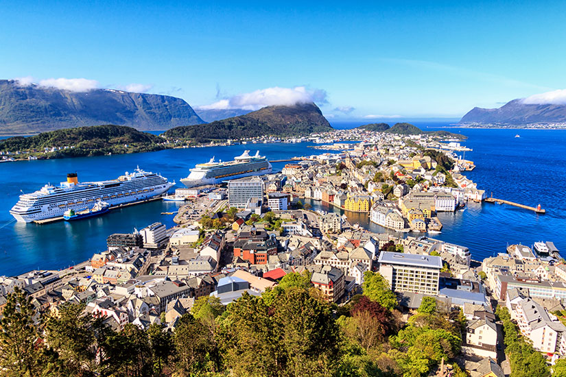 image Norvege Alesund panorama  fo