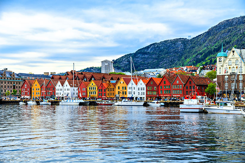 image Norvege Bergen maisons  it