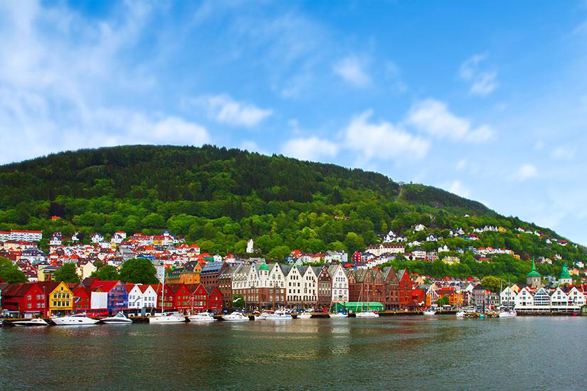 image Norvege Bergen panorama  fo