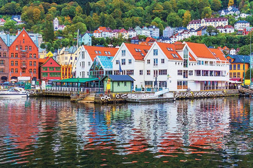 image Norvege Bergen paysage  it