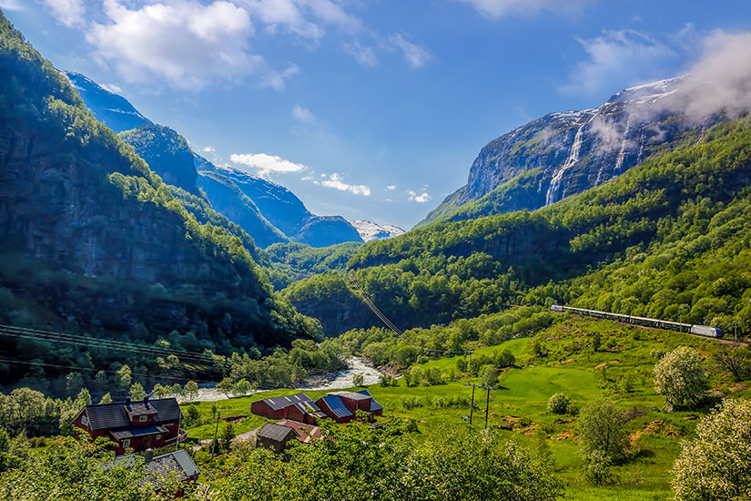 image Norvege Chemin fer Flam Myrdal  fo