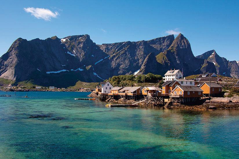 image Norvege Ile Lofoten Cabanes dans Rorbuer Sakrisoya  it