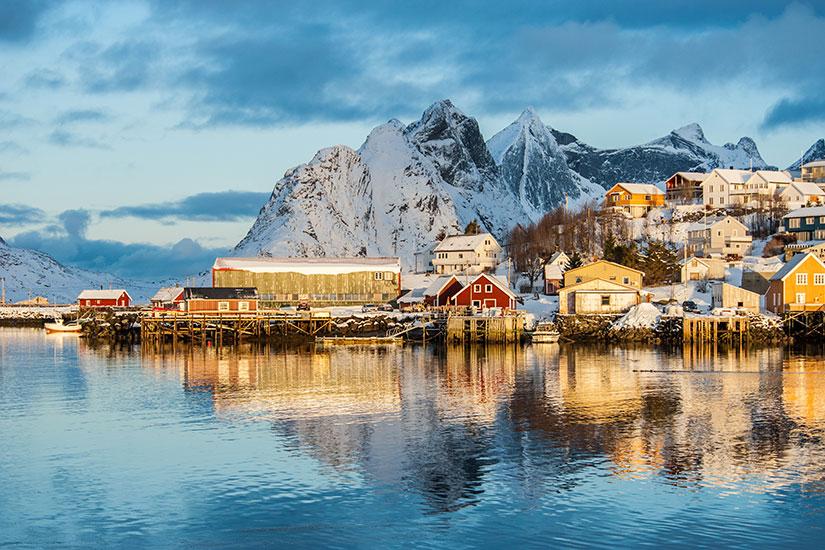 image Norvege Ile Lofoten Reine  fo