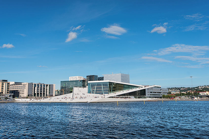 image Norvege Oslo opera  fo