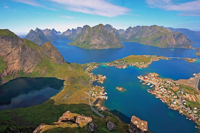 image Norvege Scenique Reinefjord in Lofoten  fo