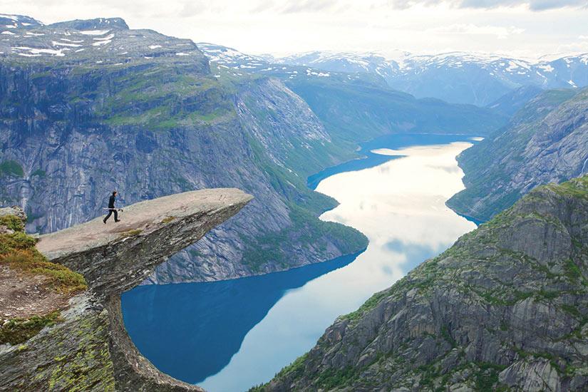 image Norvege Trolltunga Odda Fjord  fo