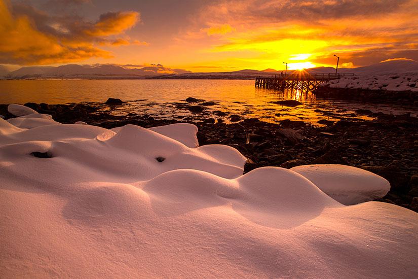 image Norvege Tromso hiver  it