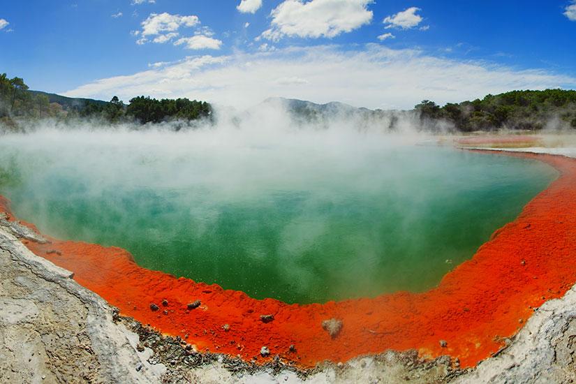 image Nouvelle Zelande Rotorua Parc Thermal Waiotapu Champagne Pool  it