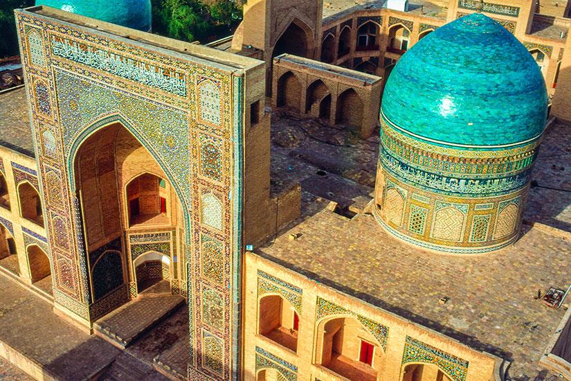 image Ouzbekistan Boukhara Panoramique  it