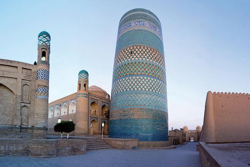 image Ouzbekistan Khiva Mosquee  it