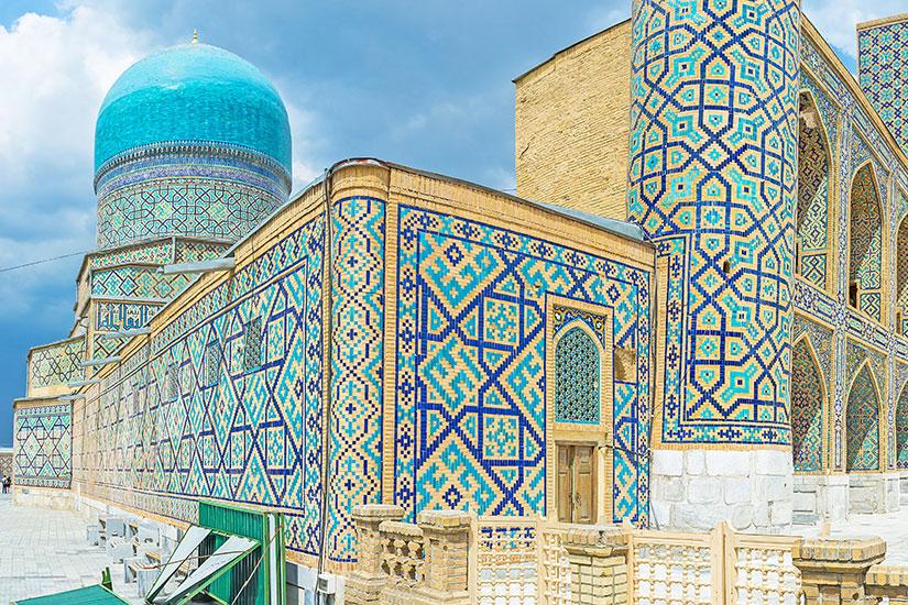 image Ouzbekistan Samarcande Blue dome  it