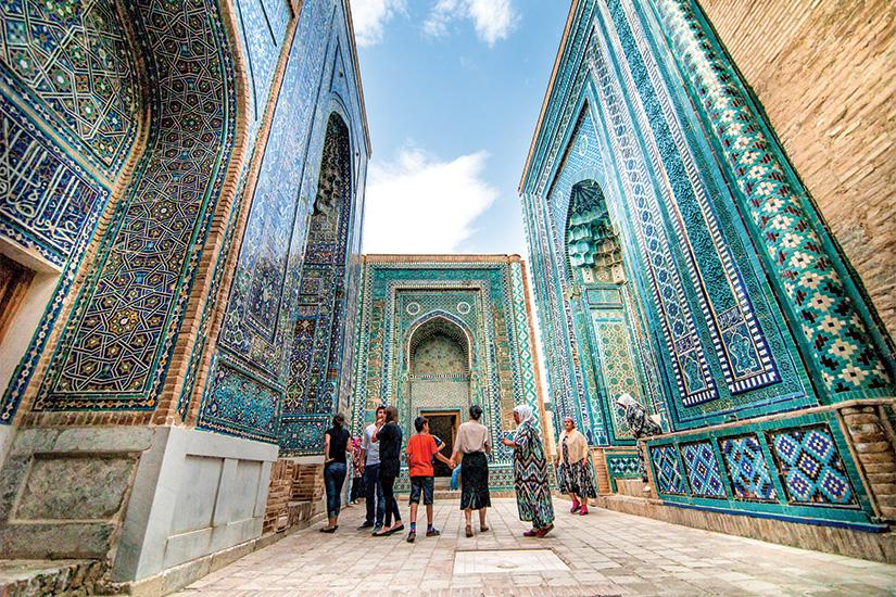 image Ouzbekistan Samarcande Mausolees de Chakh i Zinda 62 as_45261414