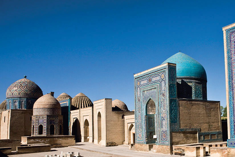 image Ouzbekistan Samarcande tombeaux I Zindah Forfait Balance Shahr  it