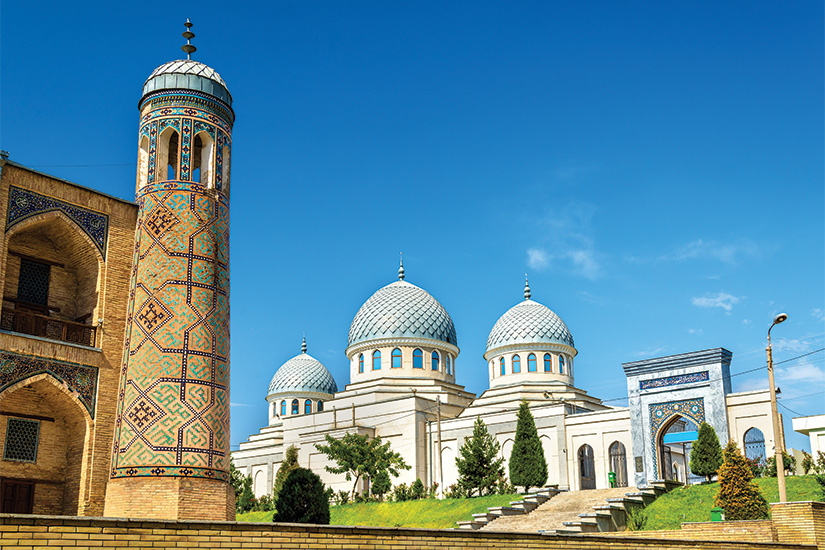 image Ouzbekistan Tachkent Mosquee Juma 08 as_124864957