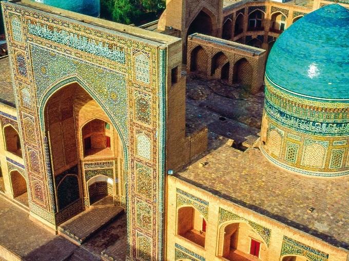 image Ouzbekistan boukhara medersa mir i arab