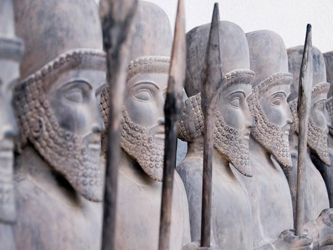 image Ouzbekistan persepolis ligne des guerriers