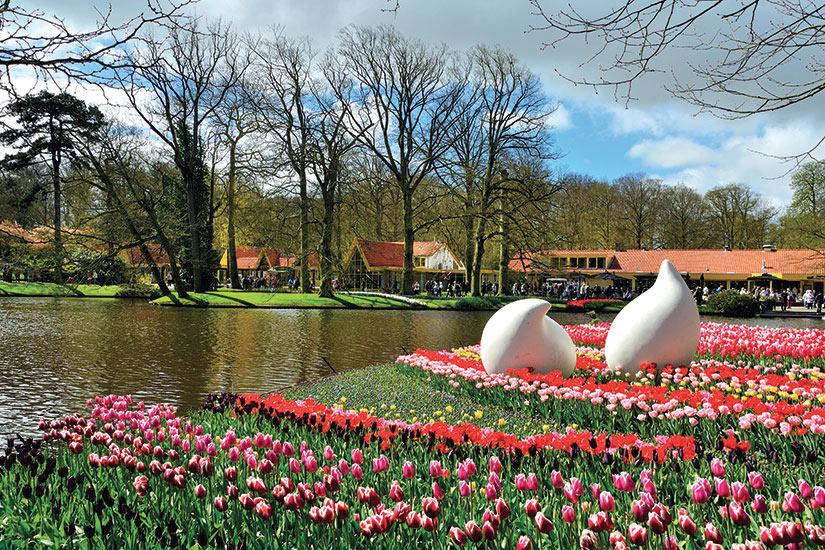 image Pays Bas Keukenhof elles fleurs de printemps  it