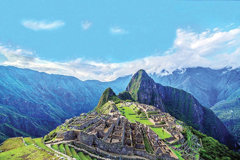 image Perou Machu Picchu Panorama  fo